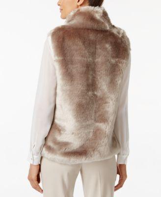 Calvin Klein Faux-Fur Vest