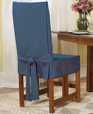 Sure fit short dining room chair slipcover slipcovers for the home