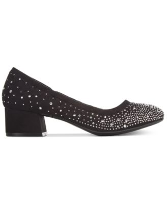 Callisto Ailish Rhinestone Pumps