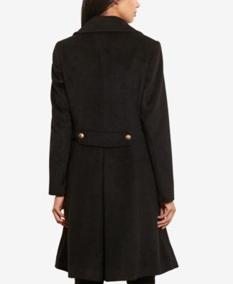 Lauren Ralph Lauren Double-Breasted Military Coat