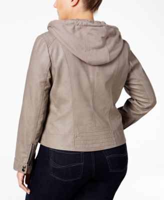 American Rag Trendy Plus Size Layered-Look Jacket