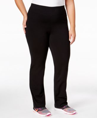 Material Girl Active Plus Size Yoga Pants, Only at Macy's