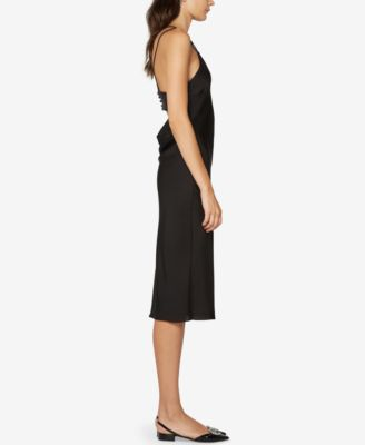 Fame and Partners Criss Cross Slip Dress