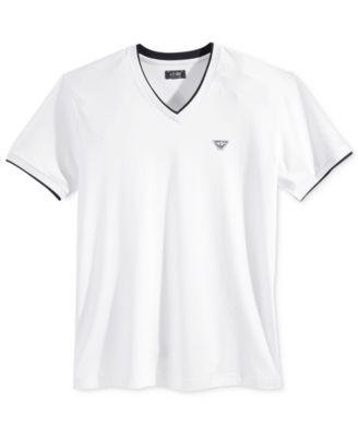 Armani Jeans Mens Graphic-Print Logo T-Shirt