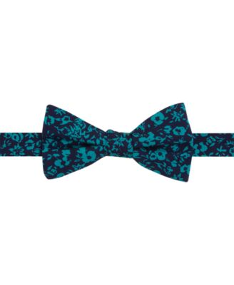 Tommy Hilfiger Mens Printed Floral To-Tie Bow Tie