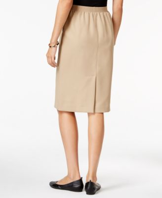 Alfred Dunner Petite October Classic Pencil Skirt