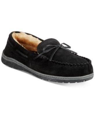 Rockport Suede Moccasin Slippers With ..