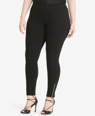 Lauren Ralph Lauren Plus Size Paneled Ponte Leggings