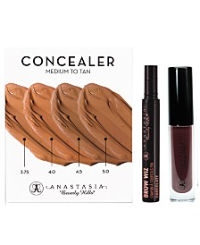 Receive a free 3-piece bonus gift with your $50 Anastasia Beverly Hills purchase