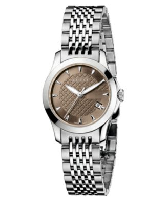 Gucci Watch Womens Swiss Stainless Ste..