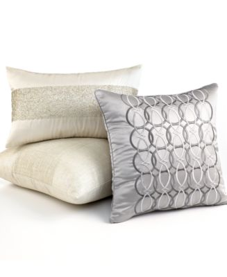 Hotel Collection Mulberry Decorative Pillows : Hotel Collection Bedding, Calligraphy Decorative Pillow Collection - Decorative & Throw Pillows ...