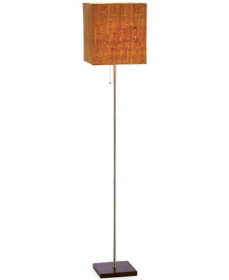 adesso sedona floor lamp lighting lamps for the home macy 39 s. Black Bedroom Furniture Sets. Home Design Ideas