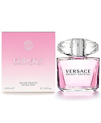 Versace Bright Crystal Eau de Toilette Spray, 6.7 oz ...