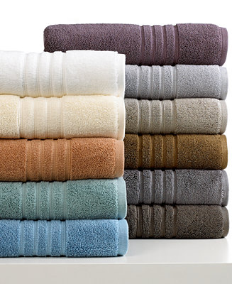 Closeout hotel collection microcotton luxe bath towel for Hotel sheets and towels