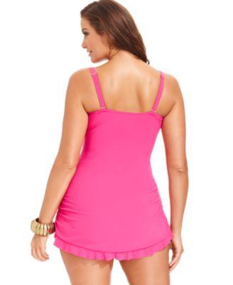Profile by Gottex Plus Size Tummy-Cont..