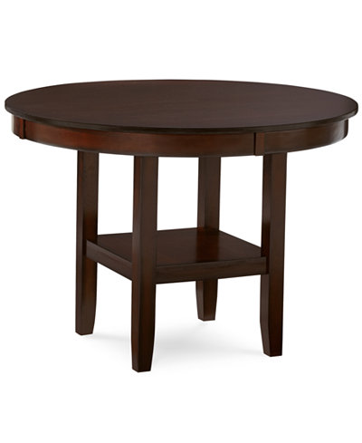 Branton Round Dining Table Dining Room Collections Furniture Macy 39 S