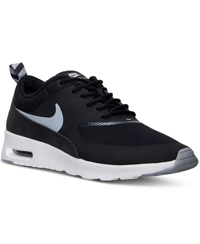 nike women 39 s air max thea running sneakers from finish. Black Bedroom Furniture Sets. Home Design Ideas