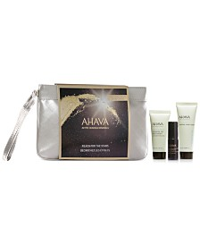 Receive a free 4-piece bonus gift with your $50 Ahava purchase