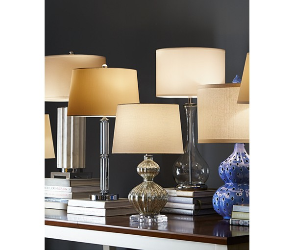 lamps on table