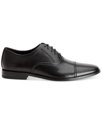 Calvin Klein Mens Nino Cap-Toe Oxfords