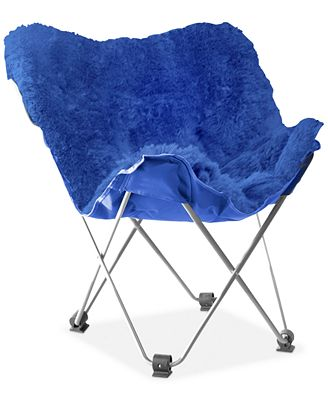 adrian faux fur butterfly chair direct ships for 9 95