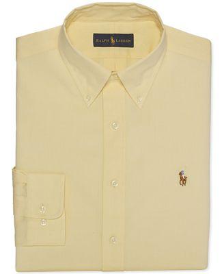 Polo Ralph Lauren Solid Pinpoint Oxford Dress Shirt