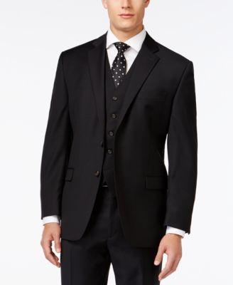 Lauren Ralph Lauren Black Solid Classic-Fit Jacket
