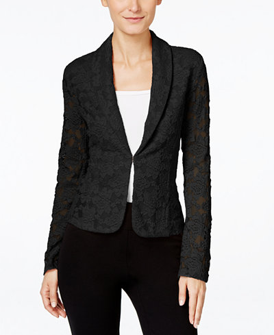Inc International Concepts Lace Blazer Only At Macy S