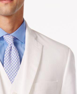 MICHAEL Michael Kors Mens White Linen ..