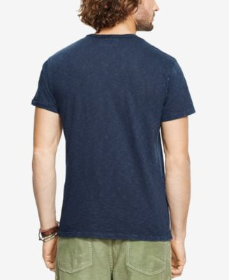 Denim & Supply Ralph Lauren Mens Graphic Jersey Crew Neck T-Shirt