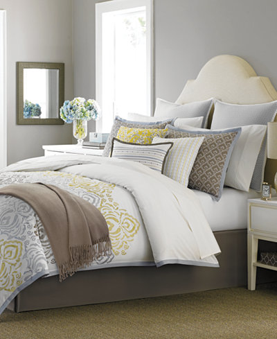 Martha Stewart Collection Cape May 10 Piece Full Comforter Set Only At Macy