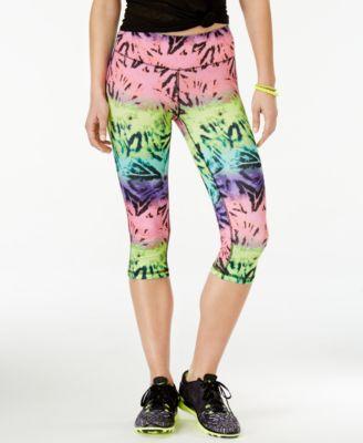 Material Girl Active Juniors Printed Cropped Leggings