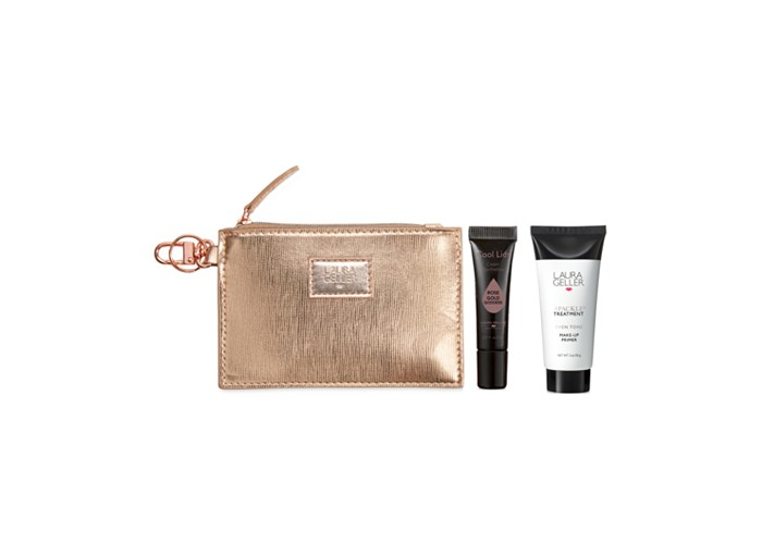 Receive a free 3-piece bonus gift with your $40 Laura Geller purchase