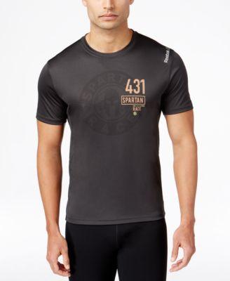 Reebok Mens Spartan Race Performance T-Shirt