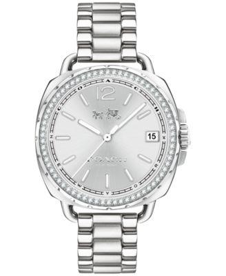 COACH Women's Tatum Stainless Steel Bracelet Watch 34mm 14502588