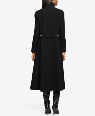 Lauren Ralph Lauren Wool-Cashmere Blend Single-Breasted Long Coat