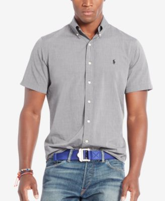 Ralph Lauren Men NEW YORK White Short Sleeved Polo
