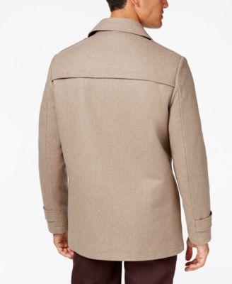 Kenneth Cole New York Wool-Blend Car Coat