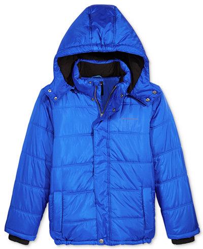 Calvin Klein Boys Eclipse Hooded Puffer Jacket Coats