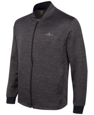 Greg Norman For Tasso Elba Hydrotech Zip Fleece Jacket