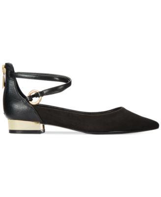 ALDO Womens Biacci Ankle-Strap Flats