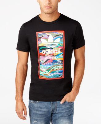 adidas Originals Mens Tropical Logo T-..