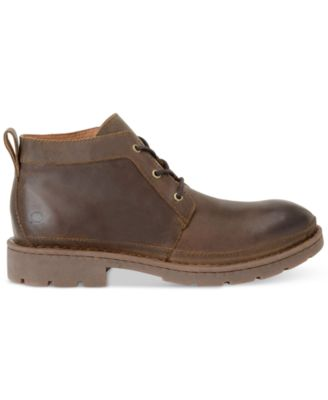 Born Mens Melick Plain-Toe Boots