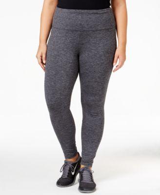 Style & Co. Plus Size Mélange Yoga Leggings