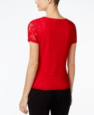 Calvin Klein Lace Top