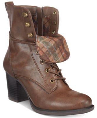 American Rag Laina Block-Heel Combat B..