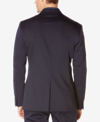 Perry Ellis Mens Extra Slim-Fit Techno Jacket