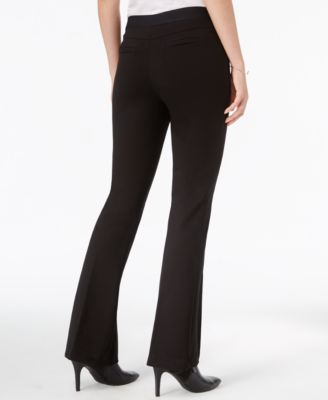 Bar III Pull-On Flared Pants