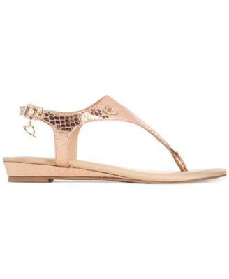 Thalia Sodi Isaa Thong Demi Wedge Sandals