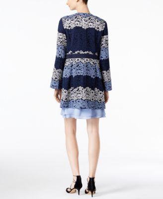 INC International Concepts Lace Coat